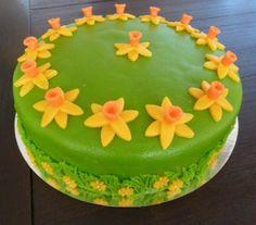 Narcissentaart Birthday Cake, Desserts, Food, Tailgate Desserts, Deserts, Birthday Cakes, Essen, Postres, Meals