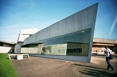 Vitra Fire Station, Schweiz - Zaha Hadid