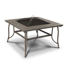 Real Flame Chelsea Wood Burning Outdoor Fire Pit Table $504