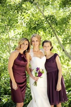 Purple and Cream Wedding | Snowbird Resort Wedding | Logan Walker Photography