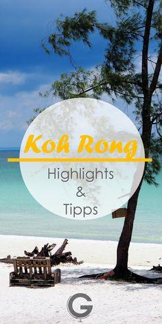 Reisebericht Koh Rong - Unsere Tipps, Highlights und schönsten Strände für deinen perfekten Insel Aufenthalt. Schau vorbei! Tonle Sap, Thailand Shopping, Thailand Travel, Koh Lanta Thailand, Thailand Destinations, Coconuts Beach, Khao Lak, Angkor Wat, Cheap Travel