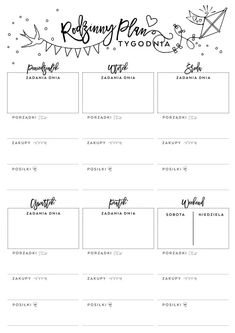 www.mypinkplum.pl... - #mypinkplum #wwwmypinkplumpl School Planner, Teacher Planner, School Must Haves, Organization Bullet Journal, Planner Pages, Planner Ideas, Day Plan, Calendar Design, Bujo