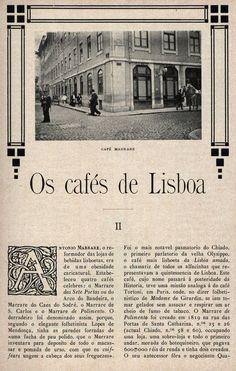 Lisboa: OS CAFÉS DE LISBOA - II