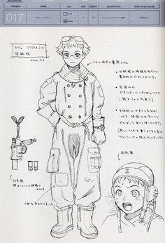 Last Exile Lavie Character Concept