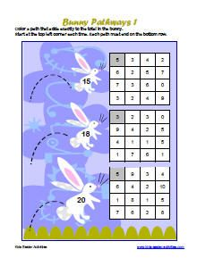 Easter math game