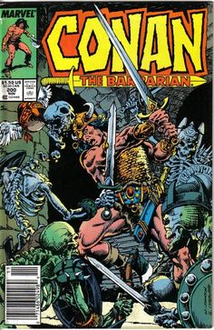 Cover for Conan the Barbarian (Marvel, 1970 series) #200