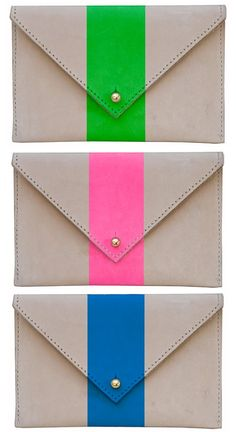 crush on the clutch! want all three