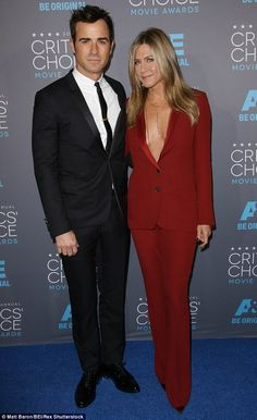 Meet the Justin Therouxs: Justin Theroux joked this week that he made new wife Jennifer Aniston change both her names, so she's now called Justin Theroux. The couple are pictured at an awards show in January
