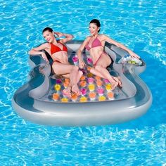 Relax and enjoy the sun on an inflatable raft, foam raft, spring float raft, pool tube or pool lounge chair. Shop ToySplash for a huge selection of pool rafts and lounges! Inflatable Pool Loungers, Inflatable Pool Toys, Inflatable Float, Pool Lounge Float, Pool Lounge Chairs, Air Lounge, Beach Chairs, Pool Floats For Adults, Pool Rafts