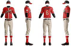 Grand Slam Baseball Uniform Template | Sports Templates