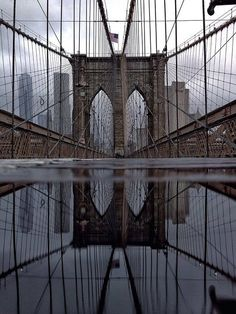 Brooklyn Bridge - New York City Feelings Brooklyn Neighborhoods, Brooklyn Bridge New York, I Love Nyc, Best Background Images, New York Art, Dream City, Beautiful Places In The World, Empire State Building, Places To See