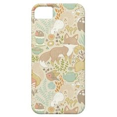 Iphone 5 case - Animal's Tea Party