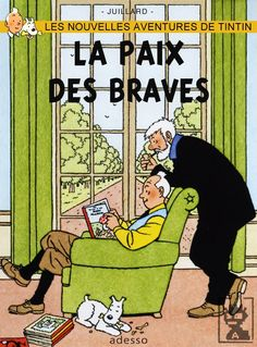 tintin, captain haddock and snowy in an artist's imaginary scene at Marlinspike Hall Lucky Luke, Haddock Tintin, Album Tintin, Captain Haddock, Herge Tintin, Ligne Claire, Comic Character, Funny Comics, Cover Art