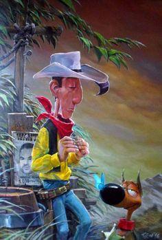 Lucky Luke by DanielGrzeszkiewicz