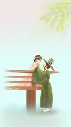 """Find and save images from the """"💑🎎doramas y k-actors🎊🎡"""" collection by April Michel (aprilkawai) on We Heart It, your everyday app to get lost in what you love. My Shy Boss, Legend Of Blue Sea, Moonlight Drawn By Clouds, Chibi Couple, Cute Couple Art, Couple Illustration, Fanarts Anime, Fan Art, Korean Art"""