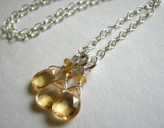 Citrine necklace by Amaria