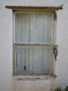 Distressed Window 1 canvas print