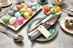 Easter still life. Festive table by LiliGraphie on @creativemarket