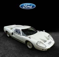 1967 Ford GT40 Mk 3 :: The GT40 was Henry Ford's response to Enzo Ferrari's rejection of Ford's bid to buy Ferrari...