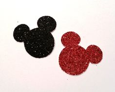 Glittered Mickey Mouse  40 Glittered Mickey by just4youbywindypoo