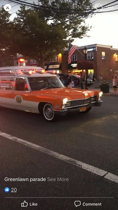 Emergency Vehicles, Fire Department, Ambulance, Cadillac, Ems, Classic, Model, Life, Vintage