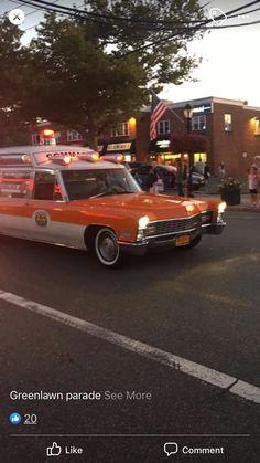 Emergency Vehicles, Fire Department, Ambulance, Cadillac, Ems, Classic, Model, Life, Vintage