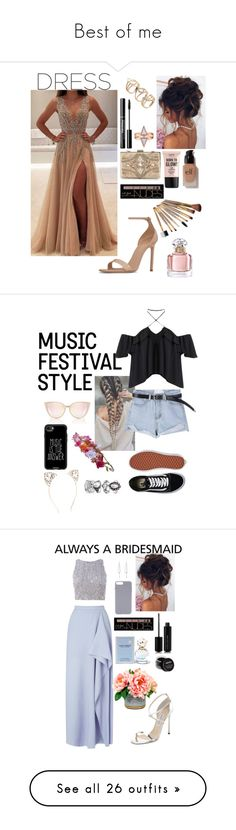 """Best of me"" by silviamachado20 ❤ liked on Polyvore featuring Yves Saint Laurent, Forever Unique, Charlotte Russe, NYX, e.l.f., Guerlain, Casetify, Accessorize, Vans and Roland Mouret"