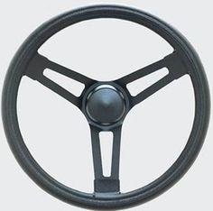 Joes Racing 13535-A 15 Plain Flat Steering Wheel