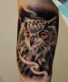 25 Eulen Tattoos - Es ist ein Symbol der Weisheit