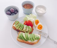 Breakfastlover's breakfast. #breakfast #avocado