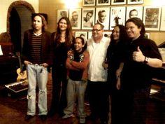Con Meli, Pedrito, Fernandito, Rei.