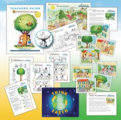 Think Earth -- Our Kindergarten unit focuses on conserving trees and other resources. Students learn that  trees provide us with many benefits and learn the importance of using  only the paper, water, and electricity that they need.
