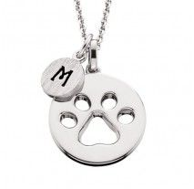 Cheer Chic- Cut Out Paw Print Pendant