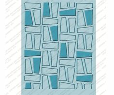 Cuttlebug NIFTY FIFTIES #1 Embossing Folder NEW(out of the box)