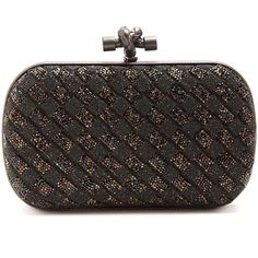 Bottega Veneta Knot crystal-embellished clutch (328.070 RUB) ❤ liked on Polyvore featuring bags, handbags, clutches, woven purse, bottega veneta handbags, bottega veneta clutches, bottega veneta and jeweled handbags