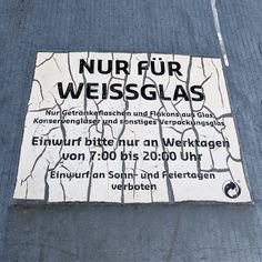 Liste: Altglascontainer in Bonn Alter, Container, Signs, View Map, Bonn, Corning Glass, Shop Signs, Sign