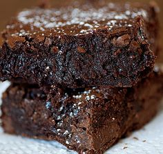 one bowl brownies..BETTER than the box kind, and almost as easy! https://illuminatemyeventblog.wordpress.com/2014/11/28/the-easiest-chocolate-brownie-recipe-ever/