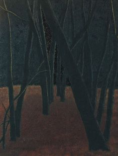 A Forest, Leon Spilliaert (1881-1946)