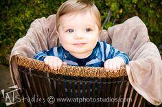 Cute baby boy photo shoot ideas