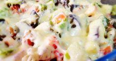 Legumes gratinados com queijo | Fabíola Bianco