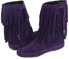 ShopStyle: Juicy Couture - Tara (Purple Waxy Suede)