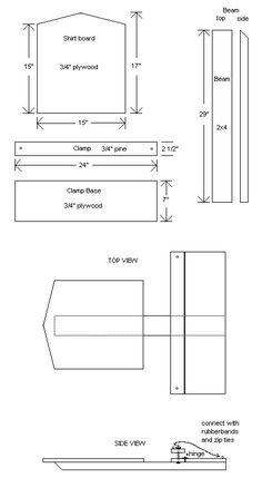 Free screen printing press plans