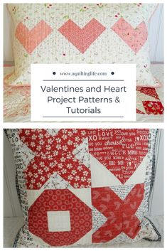 Valentines and Heart Projects Round-Up | A Quilting Life - a quilt blog