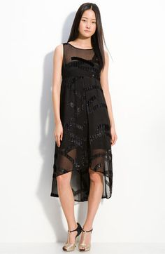 MARC BY MARC JACOBS 'Liv' sheer overlay sparkle swirl dress... $698