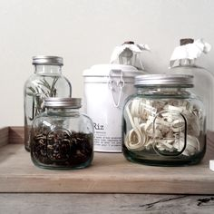 ★ Bocaux en verre recyclé / BAZAR AND CO STORE