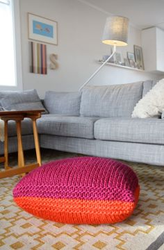 Cool and easy knitting project
