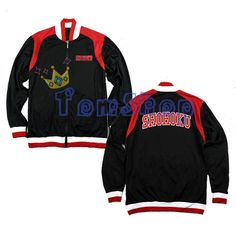 >> Click to Buy << Anime SLAM DUNK Shohoku High School Basketball Team Cosplay Costume Black Baseball Jacket Coat Unisex Tops Uniform Free Shipping #Affiliate
