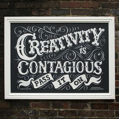Hand painted sign using chalk paints for Derbyshire art gallery in the UK. Lettering and sign painting by Alexandra Snowdon. Typography Quotes, Typography Letters, Typography Inspiration, Sign Letters, Creative Lettering, Lettering Design, Chalkboard Lettering, Chalkboard Drawings, Chalkboard Ideas