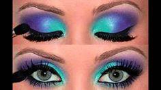 Gorgeous makeup do for yourself! Simple and easy to be beautiful!  Великолепный макияж делаем сами! Легко и просто быть красивой!