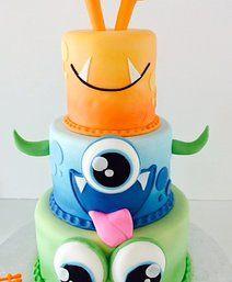 Monster Birthday Cake   Sugar Divas Cakery   Orlando   Cupcakes   Custom Cakes
